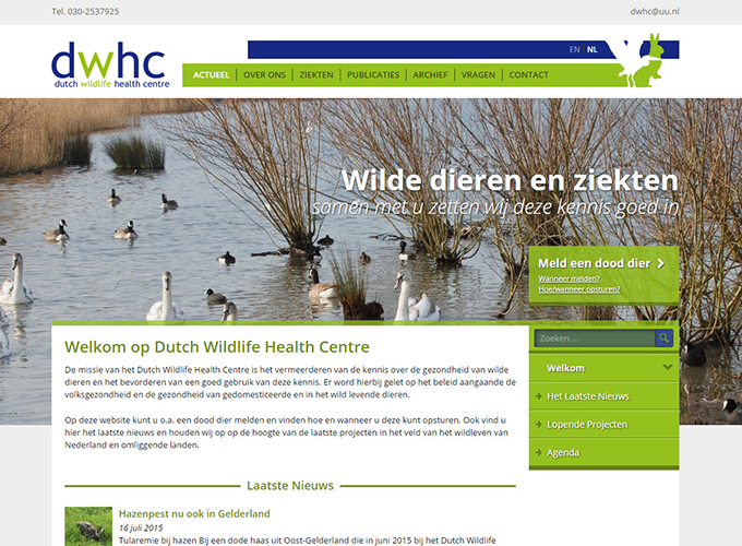 Dutch Wildlife Health Centre